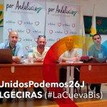 #LaCuevaBis de #Algeciras siguiendo la jornada electoral desde la sede de @iunida #UnidosPodemos26J https://t.co/euzK6rh0S4