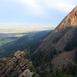 Some views are worth hiking for: The view from #Boulders second Flatiron https://t.co/HN3pI48cyY