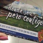 Diseño del abono de la temporada 2016/2017 del @RealZaragoza https://t.co/CaQ0nHc9i0