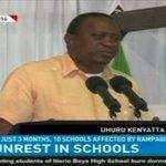 President Uhuru Kenyatta told teachers to be diplomatic with sensitive issues @apochieng #NTVWeekendEdition https://t.co/HPRbIdDIoE