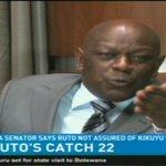 Rutos catch 22: TNA Senator says Ruto not assured of Kikuyu vote in 2022 @TrevorOmbija #NTVWeekendEdition https://t.co/DGT9NR0Qje