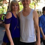 We spotted @camibradley and her husband Eric, whose team is 2-1 so far at #Hoopfest2016! #Spokane https://t.co/GiaWxP0cv1