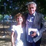 @saurel2014 Maire de @montpellier_  et Liliane Dray de Radio Aviva https://t.co/VAoBULnker