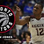 Jalen Jones has signed a deal with the Toronto Raptors, according to @12thMan. Gig 'em, @JalenJones_21 👍 https://t.co/EXxNohetsW