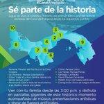 Sé parte de la historia #CanalAmpliado 26 de junio, pantallas gigantes Parque Cervantes, David, Chiriquí, 3:00 p.m. https://t.co/0mutAOUVzr