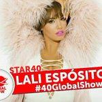 7 días y escucharemos el STAR40 de @laliespos @TonyAguilarOfi ha conseguido traerla y protagonizará #40GlobalShow41 https://t.co/XfqoGFaNAr