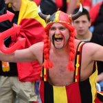 De fans zijn er klaar voor, de spelers ook. Hongarije-België gaat beginnen. LIVE: https://t.co/6FSfnAHxmb #honbel https://t.co/CHqDDzu7oi