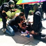 Three reported stabbings by the Nazis to Antifacists in #Sacramento. #NoNazisInSac https://t.co/2A7TyoBrzJ