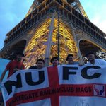 #NUFC fans from Walkergate out in Paris supporting #Eng https://t.co/4GylkJiEyN