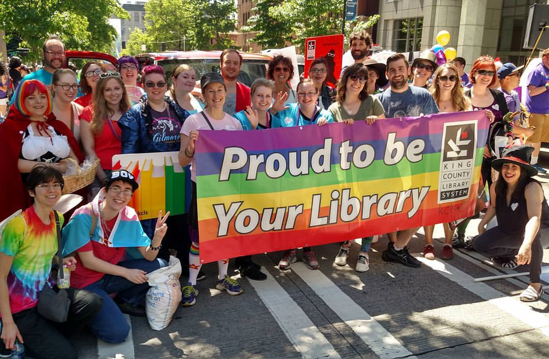 We're excited to be marching in #SeattlePride today! We hope we'll see you there #Pride2016 https://t.co/7Gdae9q0W9