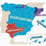 Mapa de España. #L6elecciones https://t.co/5DbaR5vF4B