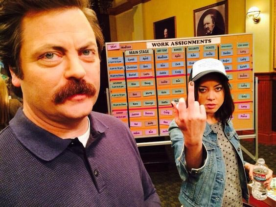 HAGGY BIRTHDAY TO MY FATHER. MY ONE TRUE DEMON BIRTH LORD OF NIGHT WHOM I LEARN ALL THINGS & SCHEMES @Nick_Offerman https://t.co/HlL7RSNDX0