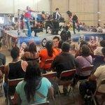 Asistí a gran exhibición de Lucha Libre en apoyo al Sr. Ángel Vicente en el auditorio de la @CNC_Oaxaca https://t.co/vkfCZ60Ovi