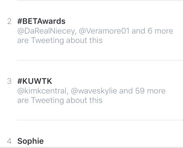 RT @WeLoveKDolls: @KimKardashian we're trending baby!!!! Love you!!!!!! Xo https://t.co/vQ5g8RPA5z
