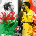 Gareth Bale v Eden Hazard: 🔥🔥🔥🔥🔥🔥 Lille, 1 July, 21.00CET. #EURO2016 https://t.co/0ZzfTmgqMO