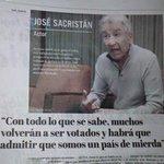 La verdadera encuesta la hizo José Sacristán. https://t.co/DOCkuzunY0