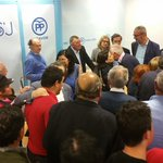 #RajoyPresidente Interventores y apoderados celebran coa Presidenta uns magníficos resultados en #Lugo e #LugoCidade https://t.co/TsKm3REInD