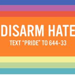 This wknd we celebrate #pride but we must also do more to #DisarmHate so pride can flourish. https://t.co/Smrif3xywT https://t.co/rkXtCG4ra6