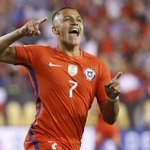 Alexis Sanchez starts for Chile against Argentina in the 2016 Copa America final. #afc https://t.co/t7X7hpRrWl