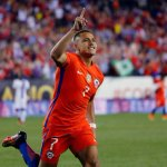 Alexis Sanchez starts for Chile against Argentina in the 2016 Copa America final. #CopaAmerica #AFC #Beast https://t.co/643J7V7GzI