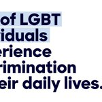 Discrimination against LGBT people is all too common—and goes against everything we stand for as a country. https://t.co/CnOZdKXG0q