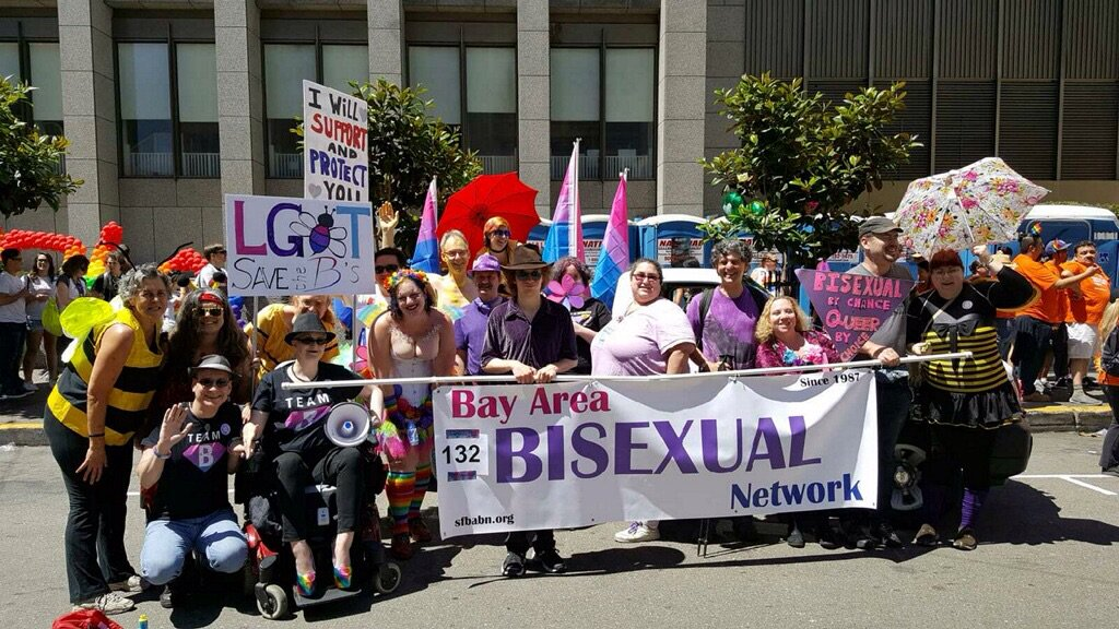 @DerrickClifton greetings from the SF Bay Area Bisexual Network! #BiPride #Pride2016 https://t.co/9K9I33Zd6A