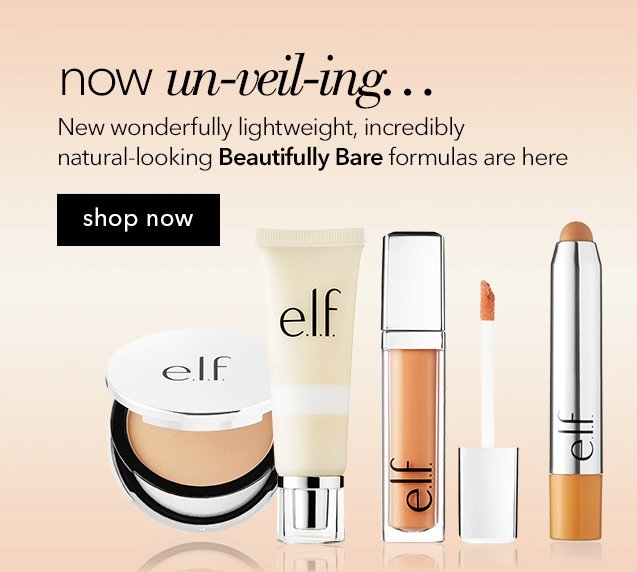 All New Beautifully Bare Items just hit the shelves! Lightweight, natural-looking makeup shows off your true beauty! https://t.co/NLs8cYloU0