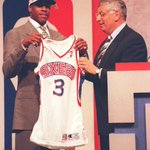 20 years ago today, the Philadelphia 76ers made Allen Iverson the No. 1 overall pick in the 1996 NBA Draft. https://t.co/dh3vYesJ35