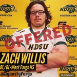 Congratulations to Zach Willis on receiving his 3rd D1 scholarship offer after a successful @NDSUfootball camp! https://t.co/2Zd8WIc0i5