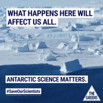 I am very proud of this #Greens16 policy to better fund Antarctic science https://t.co/wmBpnVU0PG (pdf) https://t.co/gnL5p7Cy74