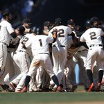 Today was Conor Gillaspies second career walk-off hit. And it was a good one. #SFGiants https://t.co/shGyzlGslo