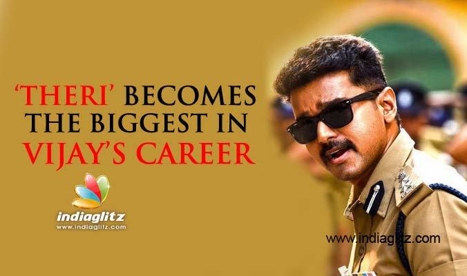#Theri becomes the biggest in @actorvijay 's 24 years of acting career #Vijay @Atlee_dir  https://t.co/qONMCvFFLb https://t.co/oZYzEkO2kw