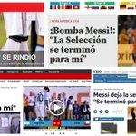 Mirá las tapas de los diarios del mundo tras la renuncia de #Messi→https://t.co/Vt524YV2v3 https://t.co/Pr1vpYoITV
