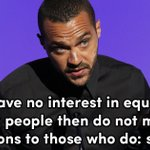 One of the most powerful quotes from Jesse Williamss speech ???? #BETAwards https://t.co/TG9PQUMd1V