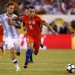 "Eduardo Vargas: ""Lo más lindo es ganarle a Argentina"" https://t.co/fpjWNs448h https://t.co/neXbXOrWtV"