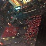 Times Square se convirtió hoy en la Plaza Italia de Santiago. @LaRoja bicampeona de América. #MonsalveCentenario https://t.co/box2Y3WmAT