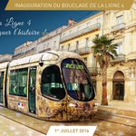 #Montpellier inauguration #Ligne4 #tramway vendredi. Programme des festivités https://t.co/bmJvhjk79Y @montpellier_ https://t.co/mlr9XcqPMX