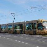 Pour le 1er jour de mise en service ce samedi, les trajets du #Tramway sur la #ligne4 seront gratuits #Montpellier https://t.co/27xEs0CxZU