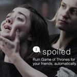 Spoiled: Text real-time #GameofThrones spoilers to your enemies, anonymously. ???? https://t.co/qWGwYzqoZz #GoT https://t.co/dvI9M6a8Zs