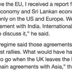 @RW_UNP explains #Brexit fallout : Four Asian deals timely | Daily News https://t.co/wuDgXjwgD0 #SriLanka https://t.co/fav1G6b4Dg