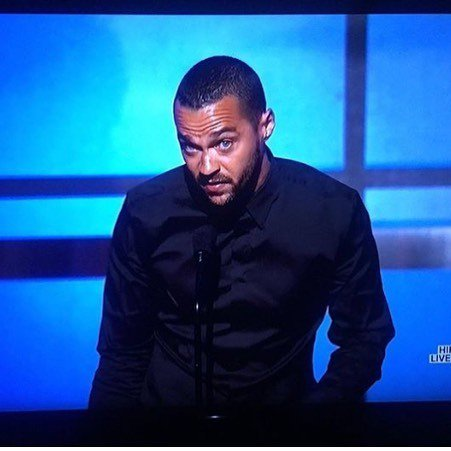#JesseWilliams just read the U.S. of A for filth during his Humanitarian Award  acceptance… https://t.co/tA4FYQwajW https://t.co/JXQSZw5QyX