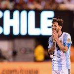 Vice de novo: Messi perde pênalti, e Chile vence Argentina em mais uma final https://t.co/MS0wKFPhdg https://t.co/AdxEZvGweF
