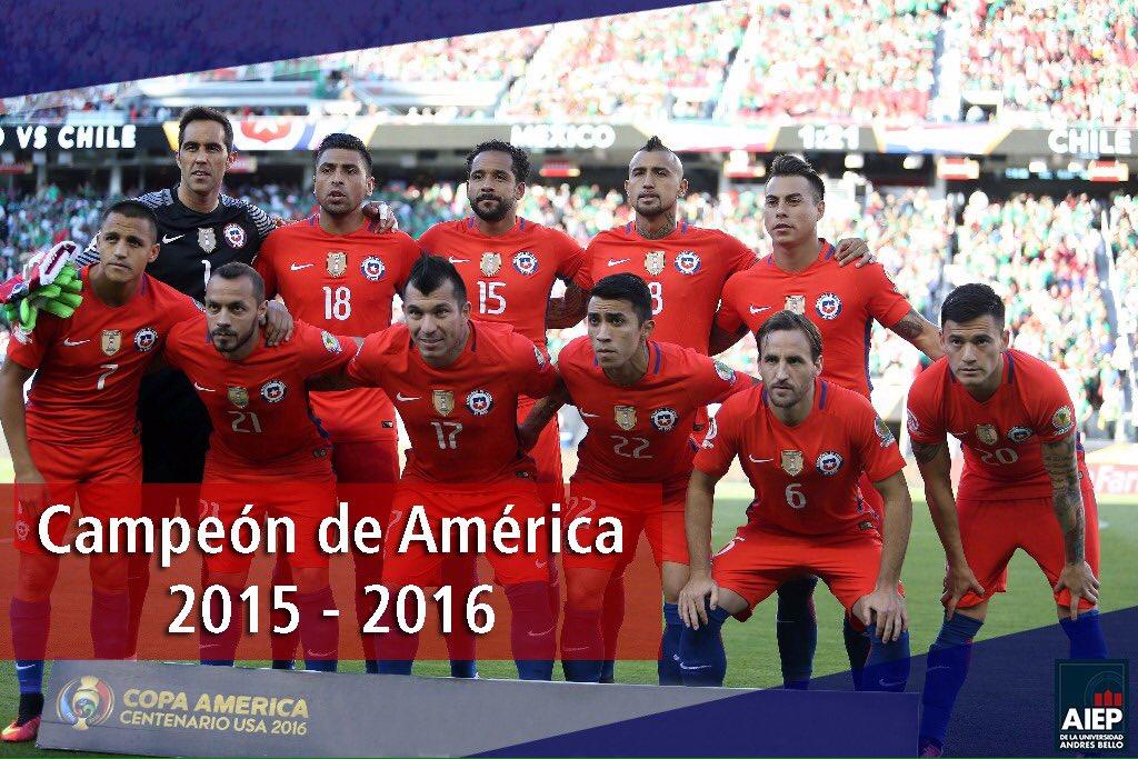 ¡Doblemente campeones! Un orgullo.  Felicitamos a la mejor generación en la historia del fútbol. https://t.co/xN5vcNhiuw