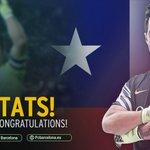 🏆 El azulgrana Bravo capitanea el segundo título de #CopaAmerica del combinado de Chile. ¡Felicidades,@C1audioBravo! https://t.co/2OEFB2lVJl