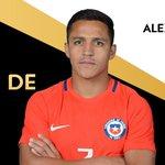¡Felicidades a @Alexis_Sanchez, el ganador del #BalóndeOro de #Copa100 presentado por @MasterCard! ¡Grande, crack! https://t.co/BkkIwrq5ZV