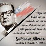 #EfeméridesteleSUR | El legado de Salvador Allende a 108 años de su natalicio https://t.co/9RHPSq3ydu #Chile https://t.co/zmn7OsgNoe