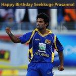 Happy Birthday Seekkuge Prasanna! The Sri Lankan Cricketer turns 30 years old today. https://t.co/dzgJCLD8j6