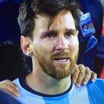 Siento tristeza por no poder ser campeón , pero más porque vos te la merecías más que nadie . Gracias Leo https://t.co/gUya2exFm7