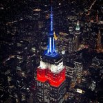 Usuarios de Twitter comparten imagen del Empire State iluminado con los colores de Chile→https://t.co/NZqpPgoBT8 https://t.co/bAH7Jxc6K9