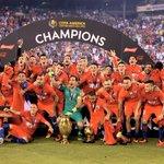 #CampeonesxESPN Chile, el bicampeón de América. https://t.co/BZSkujyN3I